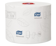 Tork Advanced Compact T6 Toilet Rolls - Pack of 27