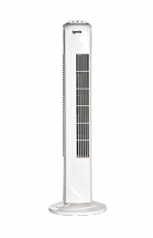 Igenix Tower Fan - 3 speed, 30 Inch, Oscillating -White/Black
