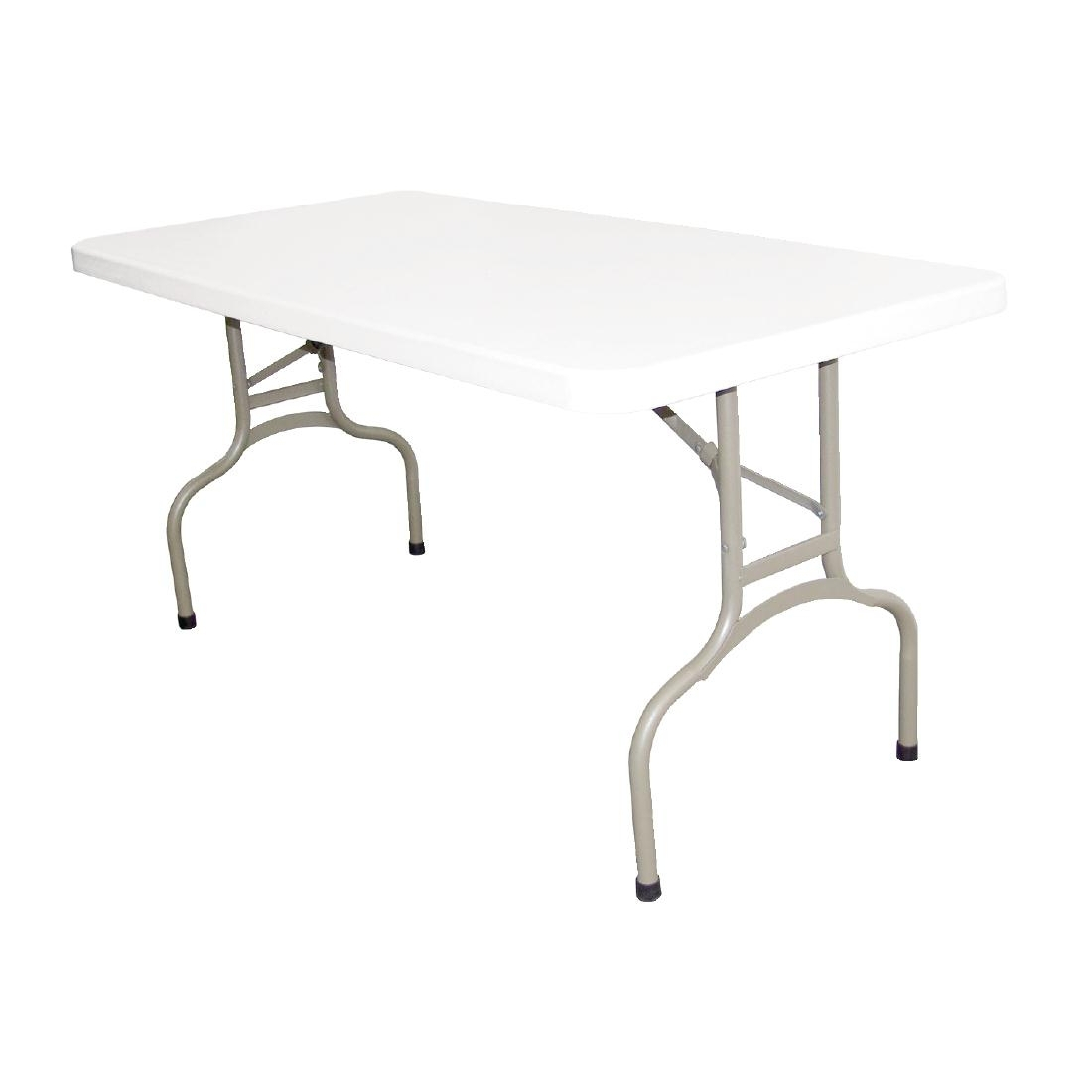 Bolero Foldaway Rectangular Utility Table