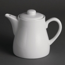 Olympia Whiteware Teapots 483ml 17oz Pacl Quantity 4