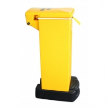 Yellow Bodied Fire Retardant Sack Holder - 65L