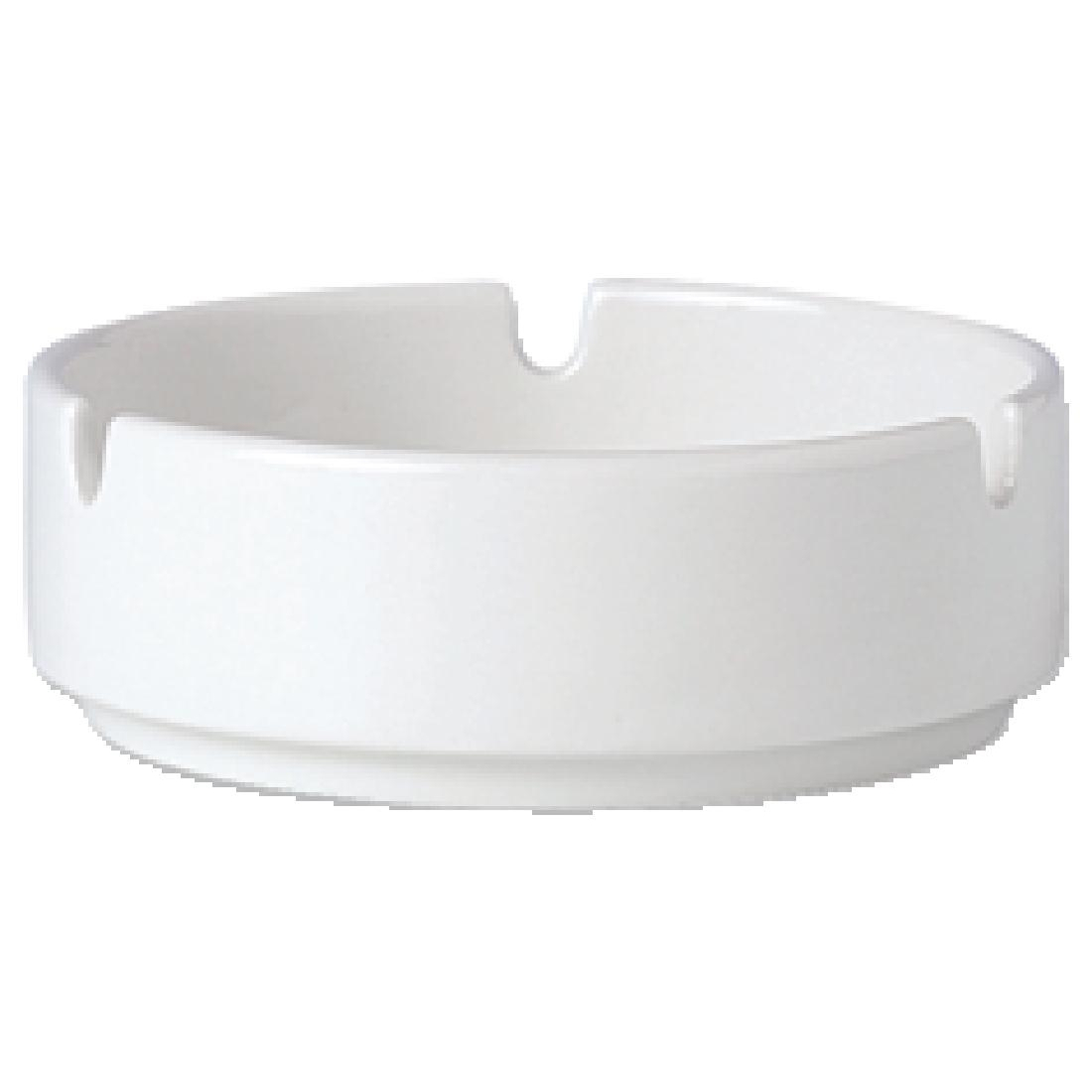 Steelite Simplicity White Stacking Ashtrays 102.5mm
