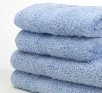 Hand Towels - Cornflower (pal le Blue)