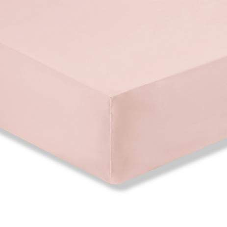 Fitted Sheet - Single - Dusky  Pink