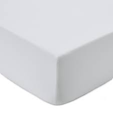 Double FR Fitted Sheet White