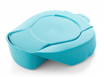 Hospital bedpan with lid Britsh standard