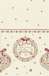 Seasons Greetings Tablecover 120x120cm - Pack of 10